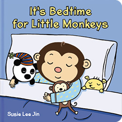 Click to buy IT'S BEDTIME FOR LITTLE MONKEYS